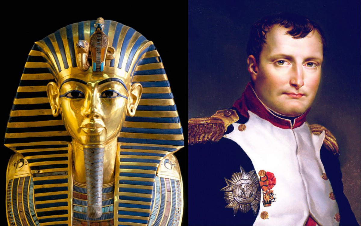 Gold mask of Tutankhamun and 'virtual autopsy'